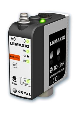 Coval releases new series of mini vacuum pumps with IO-Link